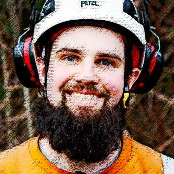 David Kendall, one of Precision Tree Services Supertreeroes